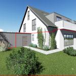 Whg. 2: Hochwertige Eigentumswohnung in Hude – ökologische & nachhaltige Bauweise, ruhige Gartenlage