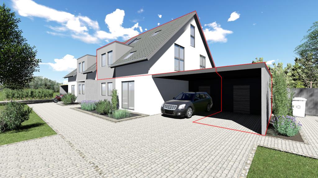 Whg. 4: Hochwertige OG Maisonette-Wohnung in Hude – ökologische & nachhaltige Bauweise in Südlage